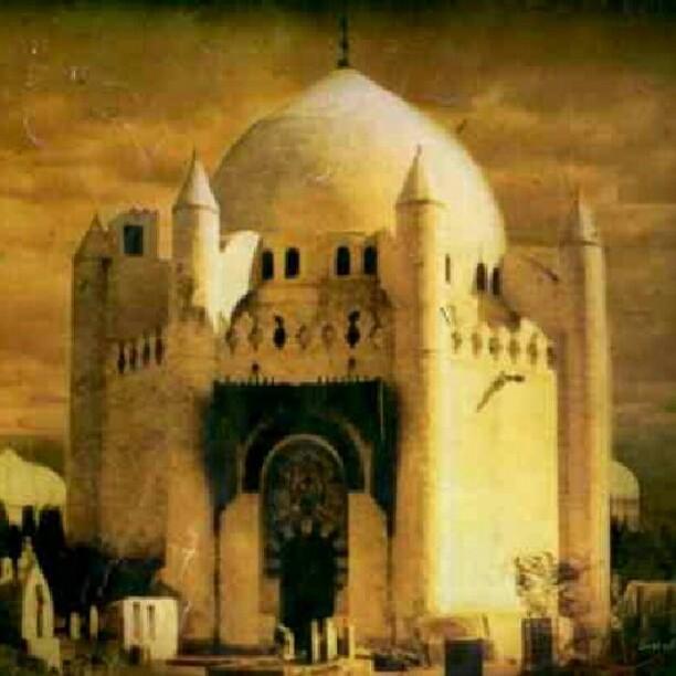 Maula Ali Shrine Wallpaper: Olden Days Ahl Al Bayt Masoulium In Jannatul Baqi
