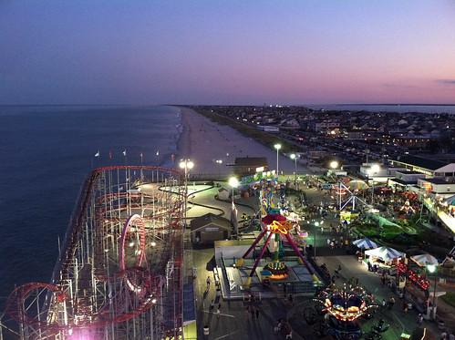 beach pier seaside newjersey sandy nj shore jersey boardwalk amusementpark rides jerseyshore seasideheights seasidepark funtown amusementparkrides funtownpier hurricanesandy