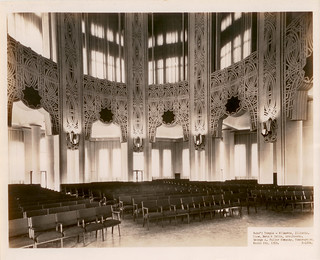 1953-Auditorium of the Baha'i House of Worship | by Sholeh