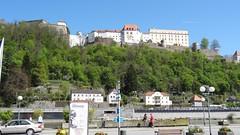 Пассау. - вид на Верхний Замок (Veste Oberhaus)
