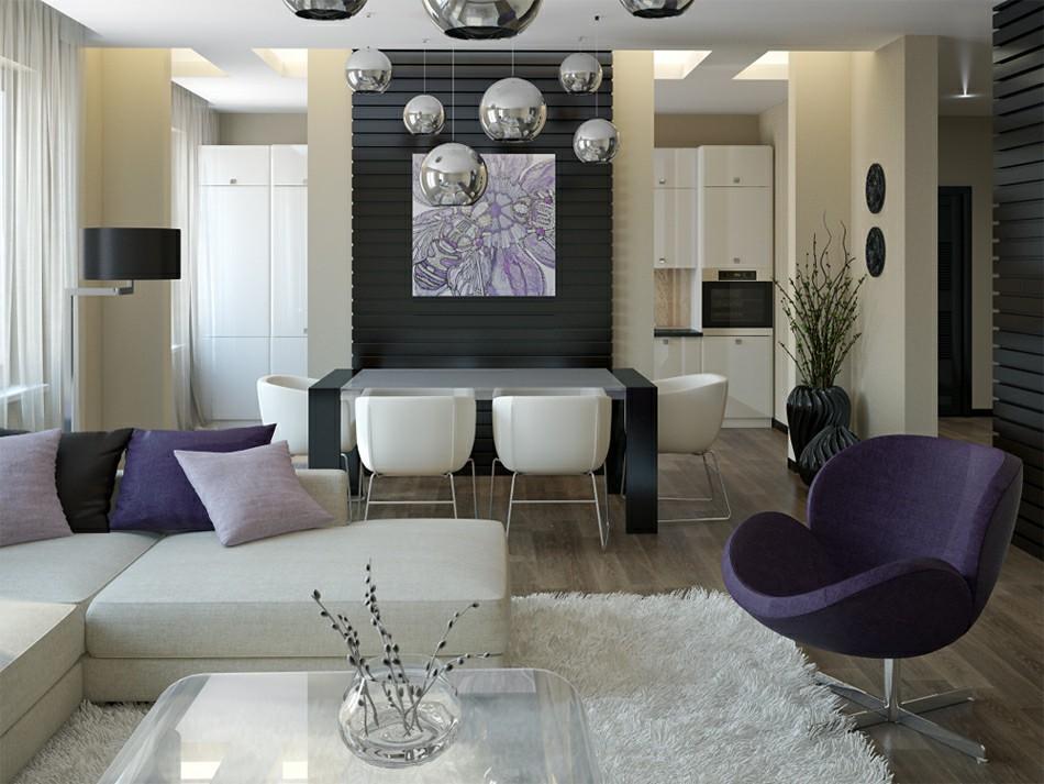 purple-white-living-room-diner | Salar Taba | Flickr
