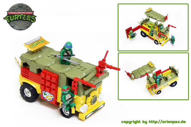 TMNT Party Wagon