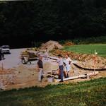 Bau Klubhaus 1998