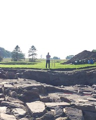 Perfik arvo at #vindolanda with Marius, Ericka, Maia & our lil Corlett-Slater tribe....sun is shining , sexy archaeology...what more could a gal ask for?! 😀💕