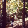 Exploring the woodland ravines of Fort Sheridan. by Alex Cheek