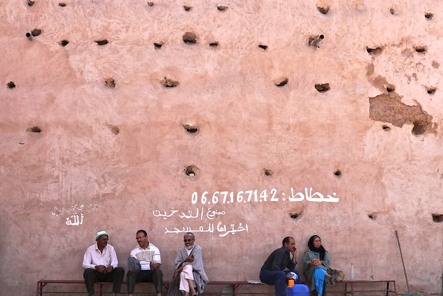 the wall of the medina