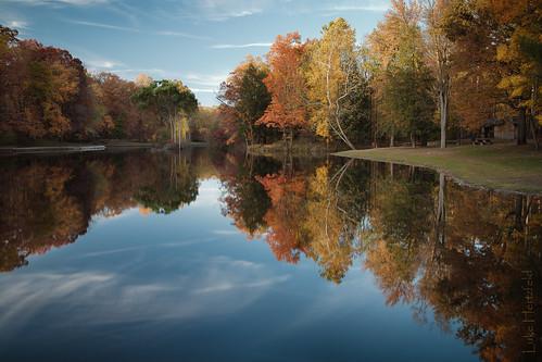 autumn ohio lake fall nature reflections outdoors swanton oakopenings