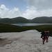 Konečně jezero Akna, tma věští bouřku, foto: Petr Nejedlý