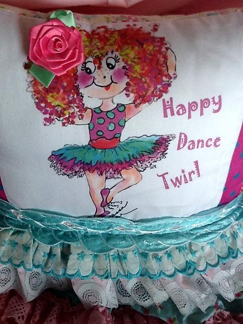Sophia Ballerina Pillow by rosanna Hope For Baby Bonbons