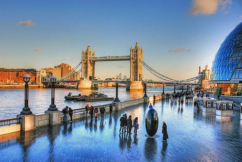 christmas bridge winter sunset england london westminster clouds towerbridge canon reflections landscape parliament bluesky naval riverthames hdr thescoop eos450d mygearandme