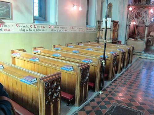 christchurch canada church tile historic christian fredericton newbrunswick pews scripture anglican butternut stannes churchofengland