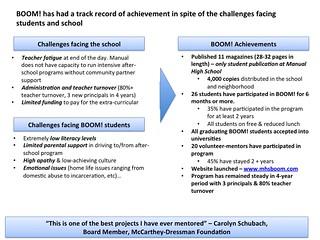 BOOM! Achievements