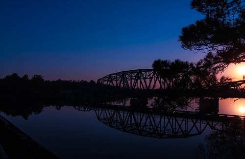 bridge sunrise stmarysriver