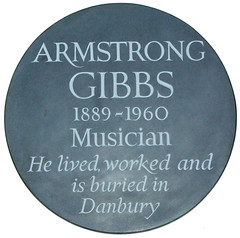 Armstrong Gibbs, musician