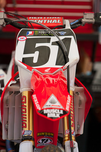 Justin Barcias Factory Honda 450