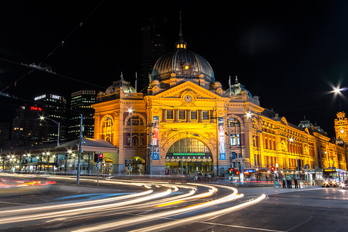 Flinders Street Train Station | by James A Collins