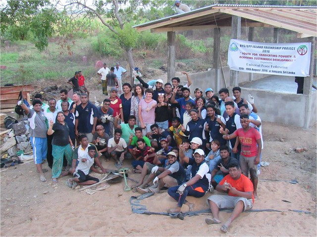 Sri Lanka-2016-08-19-RYS Project Builds Community Center in Sri Lanka