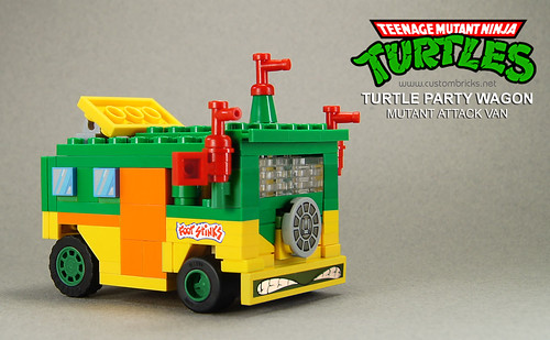 Lego TMNT Party Wagon