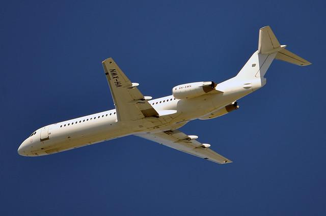 VH-XWN Fokker 100 (F-28-0100) Virgin Australia (Alliance Airlines)