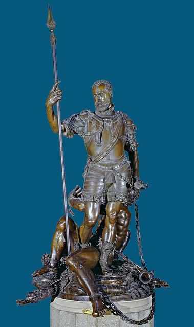 Leone Leoni - Emperor Charles V as heroe [1551-64]