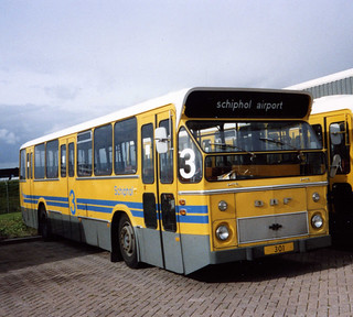 Schiphol Airport Platform bus 3 (301)