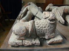 de Horkesley wooden tomb effigy