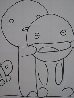 Desenho Namorados Desenho Namorados Feito Pela Crianca Int Flickr