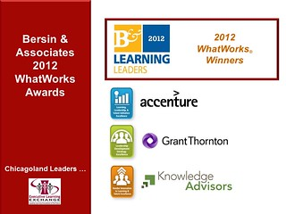 CLLC2012RecognizingLeaders-BersinWhatWorks | by learningexecutive