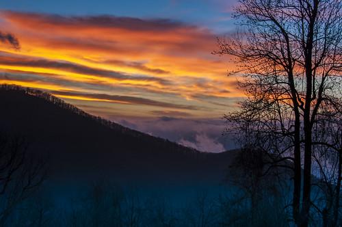 sunrise virginia nikon blueridgeparkway d90