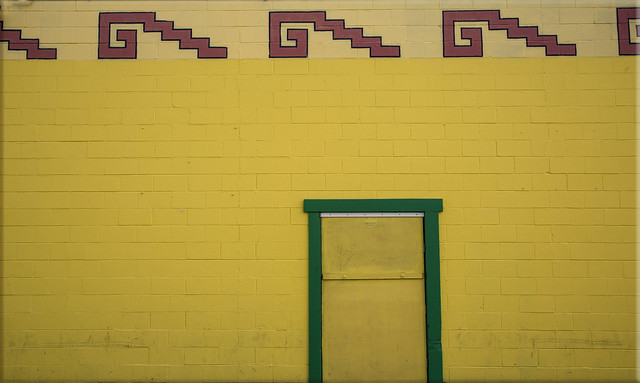 Abstract #3 - Yellow Wall