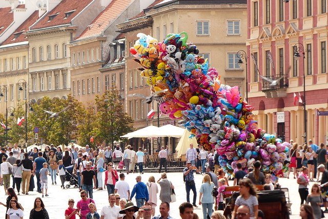 Colorful Warsaw