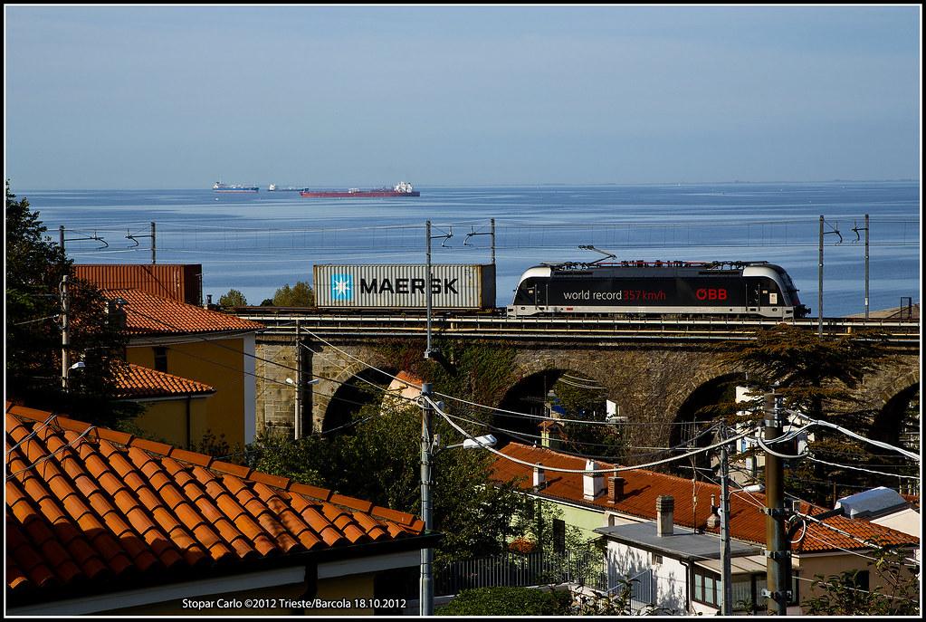 Rci 190 025 wr tec 42242 treno di rail cargo italia for B b italia carugo