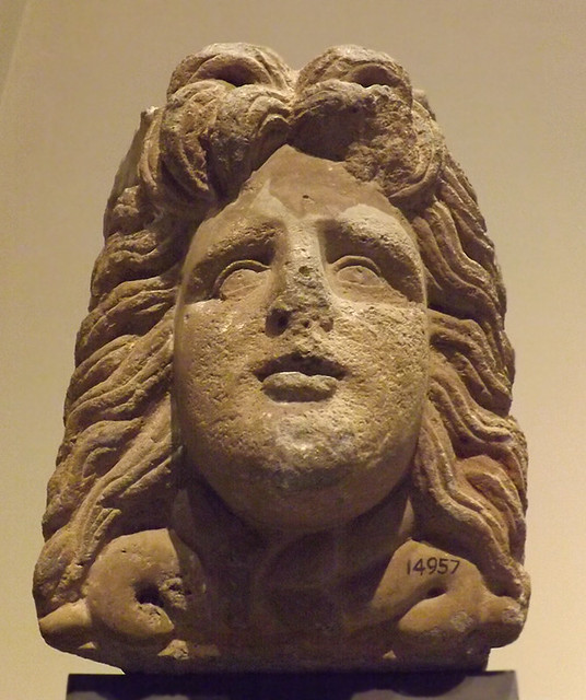 Block with the Head of Medusa in the Vatican Museum, July 2012