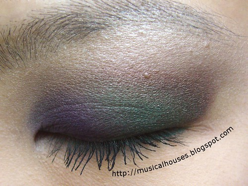 fall inspired eye look 2 | by musicalhouses