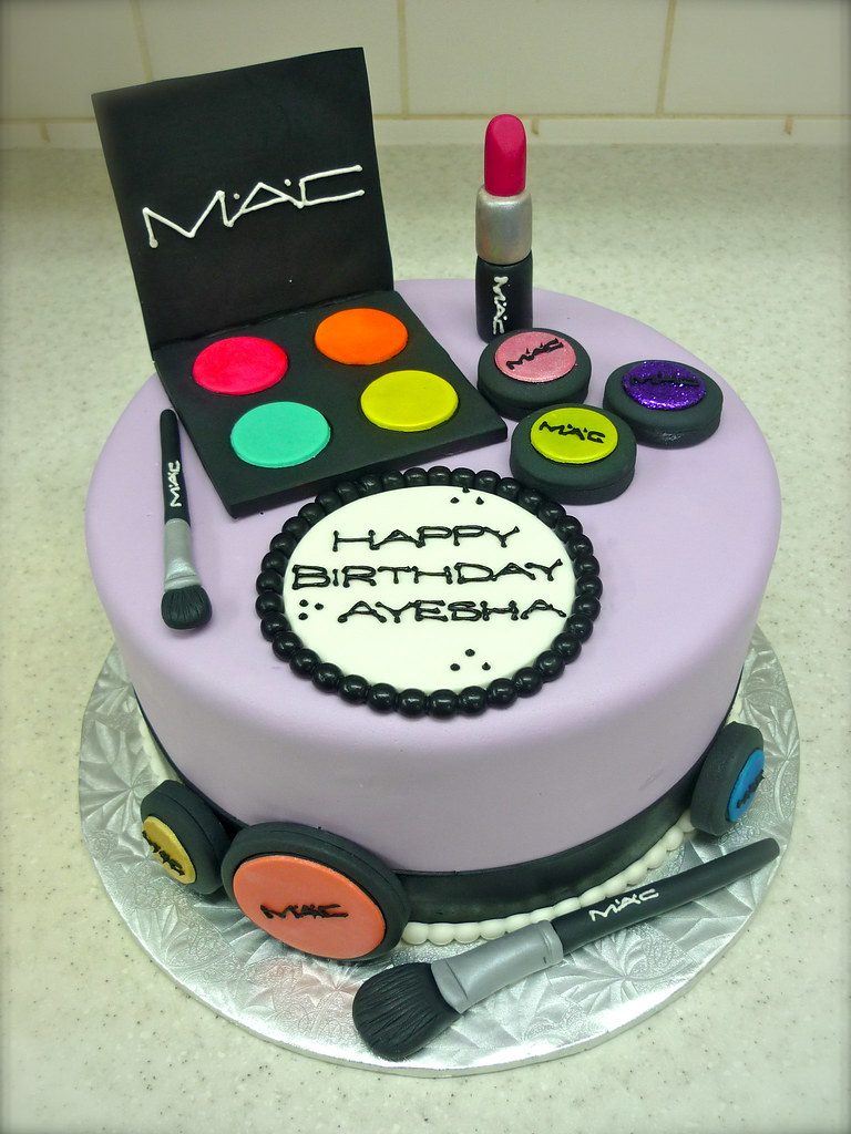 Sensational Mac Cosmetics Birthday Coco Cake Co Flickr Personalised Birthday Cards Sponlily Jamesorg
