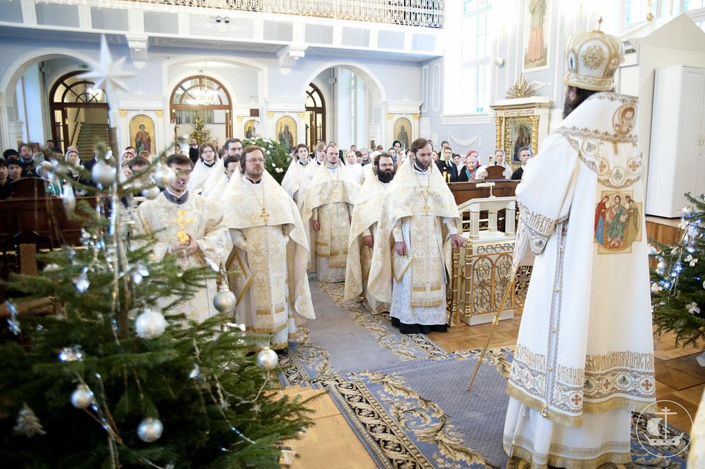 8 января 2013, Литургия в день Собора Пресвятой Богородицы