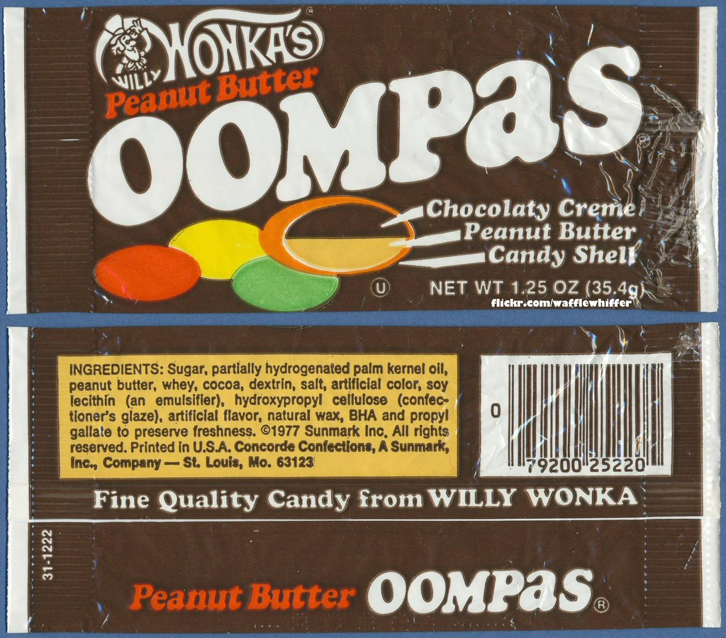 Willy Wonka's Peanut Butter Oompas - 1977 | One of the origi… | Flickr