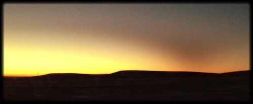 sunrise kansas flinthills