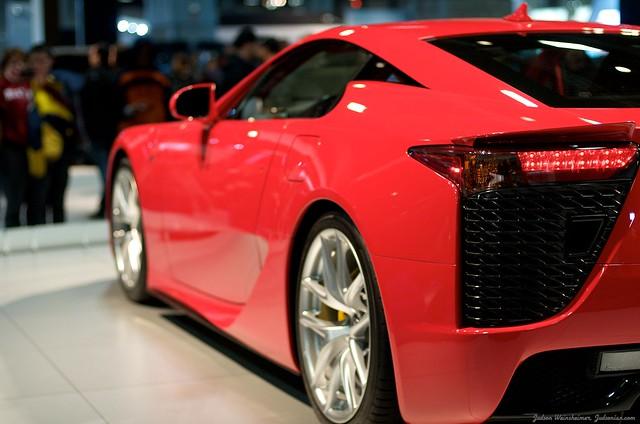 2013 Washington Auto Show - Lower Concourse - Lexus 5