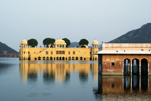 Palace sunk in the lake, Jal Mahal, Jaipur, Rajasthan, India | by Dimitry B