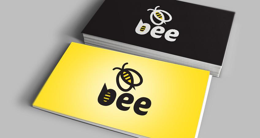 Bee Logo free vector logo