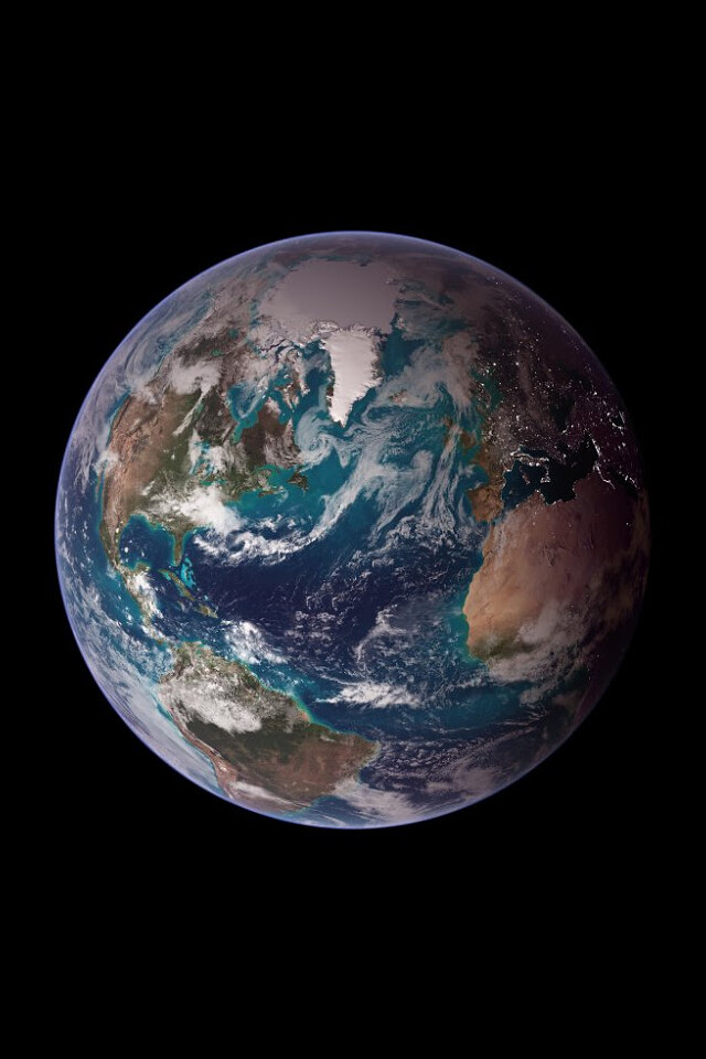 Earth Wallpaper Composite Image Of The Earth From Nasa