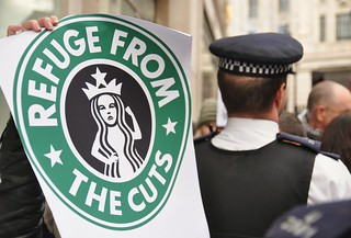 UK Uncut Starbucks Protests - London 2012 | by Darren Johnson / iDJ Photography