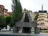 Jerevan – socha architekta Alexandra Tamaniana před kaskádami, foto: Petr Nejedlý