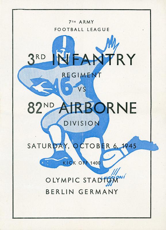 1945-10-06-Football program-82d Airborne Division-01