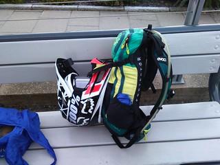 Evoc FR Enduro Team Hydration backpack & 2014 Fox Rampage Pro Carbon | by mtbboy1993