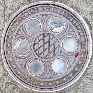 photo - Bath Manhole Cover | by Jassy-50