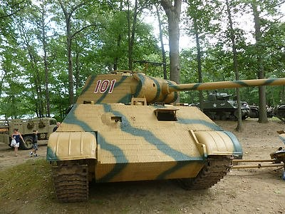 "German Panzer V ""Panther"" Ausf A Full Size Replica Tank"