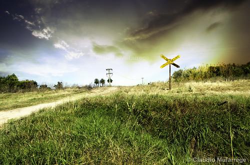 Crossing / Cruzando by Claudio.Ar