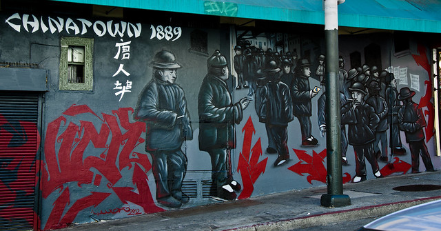 chinatown transcontinental railroad china chinese workers san francisco
